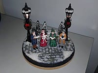 Christmas miniature with lights  New Westminster