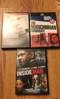 Manchurian Candidate & Inside Man Los Angeles, 90048