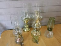 Oil/Candle lamps($30) for all of them. Malden, 02148