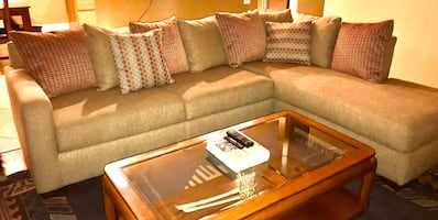 Sienna brown Ashley edition sectional