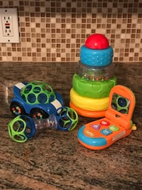 Baby Toys / Rattle, Car, Phone, Tower & Piano