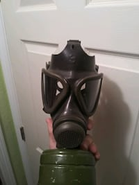 Russian surplus gas mask.