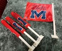 Brand new, never been used, Ole Miss car flags Richland, 39218