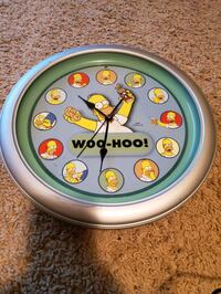 Talking Homer Simpson Wall Clock  Layton, 84041