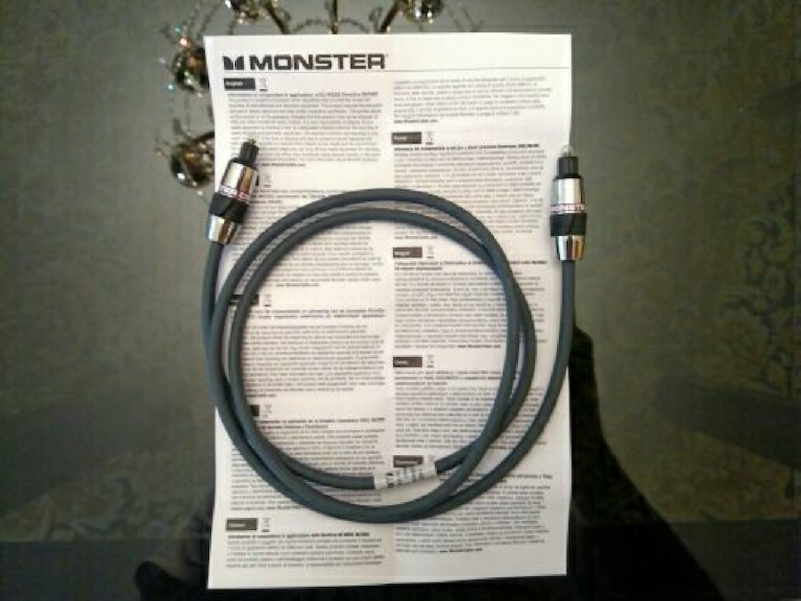CABLE ÓPTICO AUDIO MONSTER - Madrid