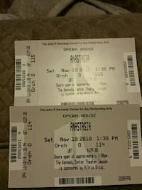 two anastasia tickets center orchestra  Springfield, 22153