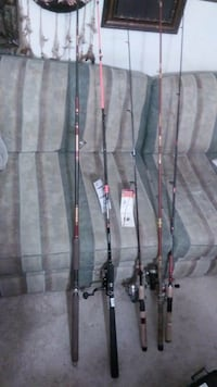 fishing rods and tackle boxes $600 obo Woodbridge, 22193