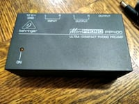 Behringer PP400 PLUS RCA Cable - Microphono Phono Preamp DJ Interface  Toronto, M2M 3V8
