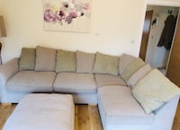 Gray fabric padded sectional sofa Amersham, HP6 6FH