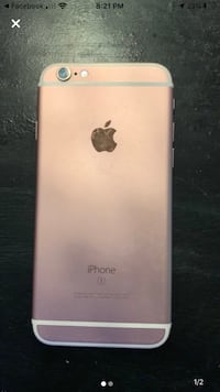 iPhone 6s rose gold, LOCKED TO SPRINT