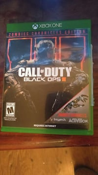 Call of Duty Black Ops III Xbox One game case