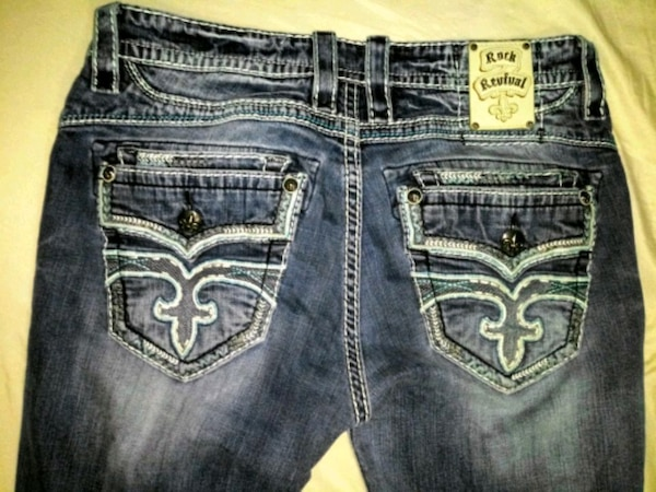 284de7ccf Used Rock Revival jeans Size 36 for men for sale in Columbia Heights ...