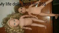two undressed dolls Barrie, L4N 5K2