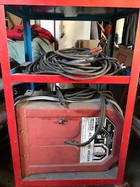 Red Lincoln Electric welding machine