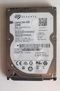 Seagate Laptop 2.5 500 GB hdd (disk)