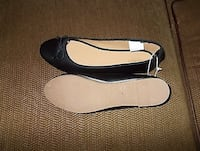 "Ladies black flat shoes ""New"" Burke, 22015"