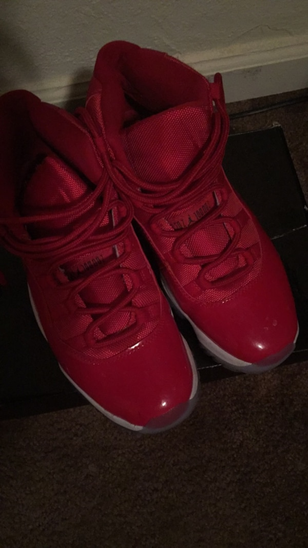 280dd70f38a2 Used pair of red Air Jordan 11 s for sale in Atlanta - letgo
