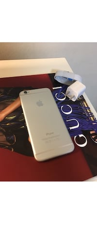 (30 DAY WARRANTY) PRICE IS FIRMUnlocked to any carrier Silver iPhone 6 16GB Washington, 20011