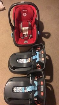 red and black car seat carrier Arlington, 22204
