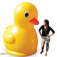 Brand New Never Used GIGANTIC 7 FOOT RUBBER DUCKIE Halton Hills