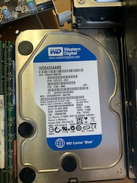 Hard drives and ddr2 ram Montreal, H8T 2V3