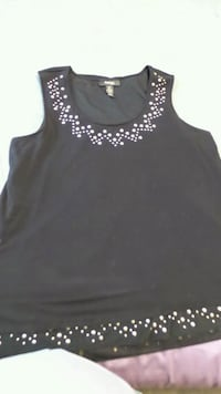 women's black sleeveless top Tucson, 85747