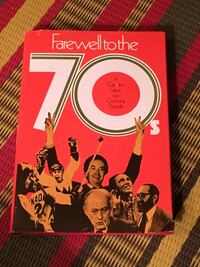 Farewell to the 70s Canadian Salute hardcover  Toronto, M2M 2A2