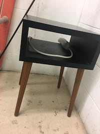 Modern Black end-table Washington, 20018