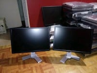 4 Wide screen 21 inch Dell & Planer Lcd Monitors for 25$ Each Streamwood, 60107