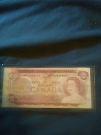 1974 $2 replacement note  Toronto, M1R 1P4