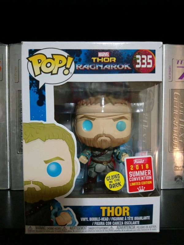 Funko Pop Thor with Odin Force (SCE)