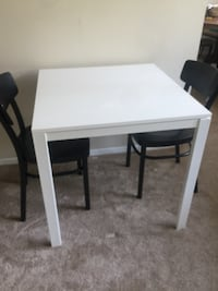 Dining table with two chairs ikea Alexandria, 22304