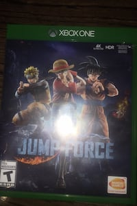 Jump force video game ( Xbox one)
