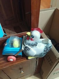white and gray hen holding cart toy Cornwall, K6H 5R6