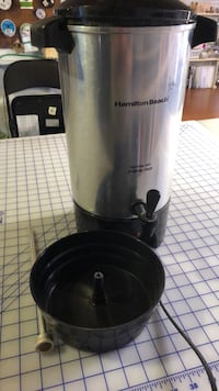 Hamilton Beach 24 cup coffee urn. Note lid is broken but unit still works fine Fairfax, 22032