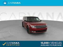 2016 Ford Flex hatchback SEL Sport Utility 4D Red