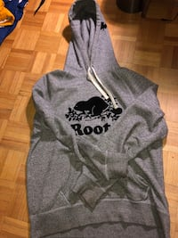 gray and black floral hoodie Toronto, M9A 4M6