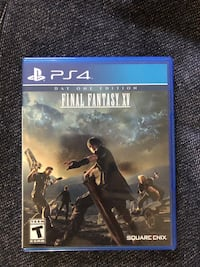 Sony ps4 final fantasy x case Washington, 20008