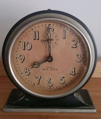 1927 Nickeo Plated Westclox Big Ben Alarm Clock  Gaithersburg