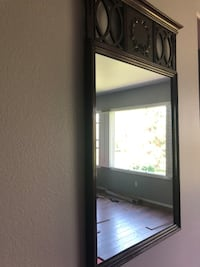 24x38 vintage mirror. Good condition. Wood frame has some imperfections  Pick up only.  Fullerton, 92835