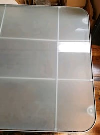 Sturdy Commercial Glass Table w/Metal Frame Baltimore, 21211