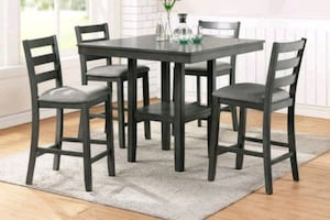 Brand New 5pc Counter Height Table Set