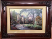 "Thomas Kincade ""Summer Gate III"" painting. Mount Pleasant, 29425"