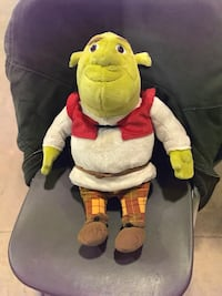Shrek Limited Edition Plush Figure From  2007 Lutherville Timonium, 21093