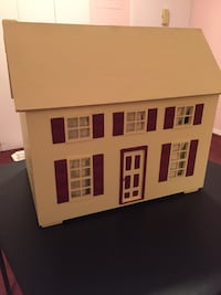 Wooden dollhouse with furniture  White Plains, 10603