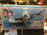Chips helicopter 1980 still in box Bowie, 20720
