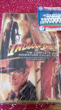 Indiana Jones, complete series..