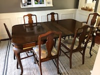 Antique table with 6 chairs Fairfax, 22033