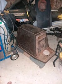 Antique wood stove, energy Harvester