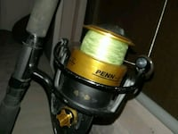 spinfisher Iv reel rod combo Tampa, 33617
